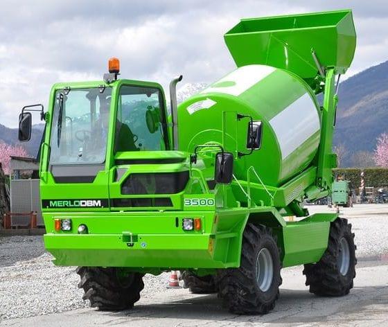 Merlo DBM 3500 Mini cement mixer